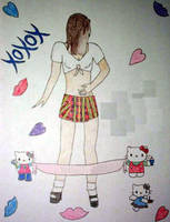 Kimiyo: School Girl by jamesgannon