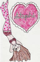 Stephi: Valentine by jamesgannon