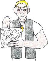 Jesse Lothario MySpace Avatar by jamesgannon