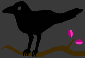 Dark Twitter Bird by jamesgannon