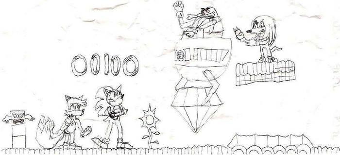 Sonic 3 by jamesgannon