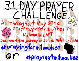 Praying For Milwaukee Flyer by jamesgannon