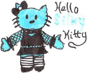 Hello Silky Kitty by jamesgannon