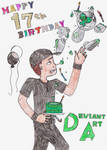 Happy 17th Birthday DeviantART! by jamesgannon