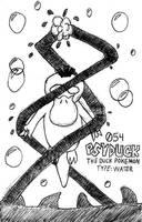 Psyduck: Break Time Sketch by jamesgannon