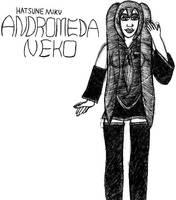 Andromeda Neko: Hatsune Miku- Break Time Sketches by jamesgannon