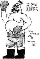 King Hippo- Break Time Sketch by jamesgannon
