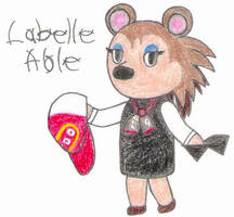 Labelle Able- Break Time Sketches by jamesgannon