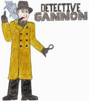 Detective Gannon- Break Time Sketches by jamesgannon