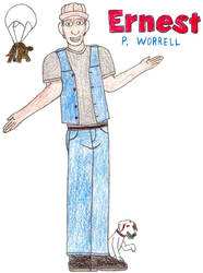 Ernest P. Worrell- Break Time Sketches by jamesgannon