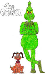 The Grinch and Max- Break Time Sketches by jamesgannon