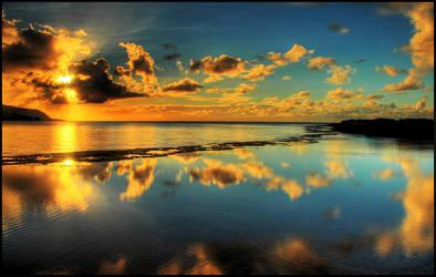 Mirror Sunset II by crazyIvan969
