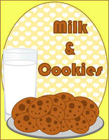 Milk and Cookies by MidniteHearts