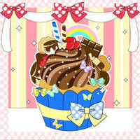 Ultimate Chocolate Cupcake by MidniteHearts