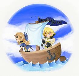 We set sail by Exarrdian