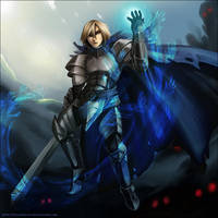 Corruption of the paladin by Exarrdian