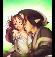 Ticklish Kiss by Exarrdian