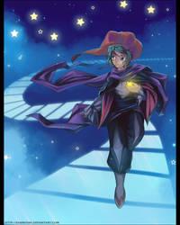 Secret Santa - Jester by Exarrdian