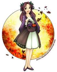 Autumn Fruits by Exarrdian