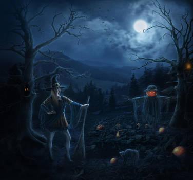 October Nights by IvannaDark