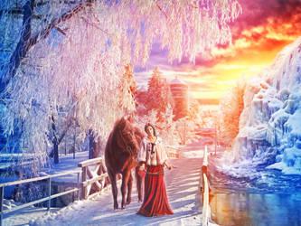 Winter's Majesty by IvannaDark