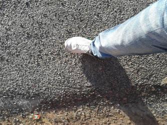 Walking by mwnudefan