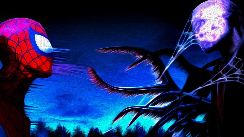 spiderman vs slenderman by drawinggirl4 on deviantart