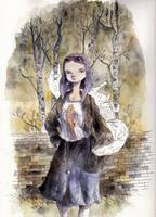 autumngirl by tonysandoval