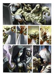 anima oscura page by tonysandoval