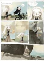 waternakes comic page by tonysandoval