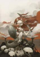 the polish mermaid by tonysandoval
