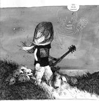 dia de muertos by tonysandoval