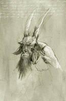 baphometh by tonysandoval