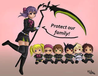 Protect our family by Araaraa
