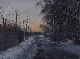 Evening in Lukyanivka by dismwork