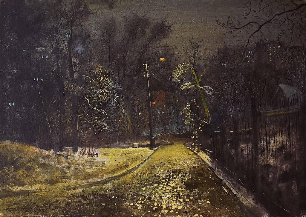 Night street by dismwork