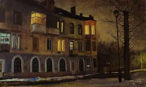 Dalya street,  Lugansk by dismwork