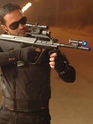 Me ___ With _ Kalashnikov _7 by magicianol