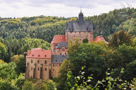 Kriebstein Castle in Autumn by VonZeitZuZeit