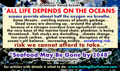 Seafood Gone by 2050? All Life Depends on Oceans by eatingourfuture