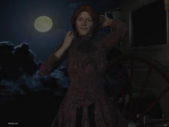 Victorian Moon by rochdale