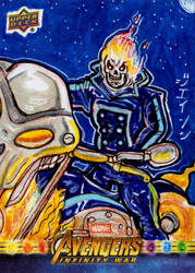 Ghost Rider for Upper Deck/Marvel by RazeComix