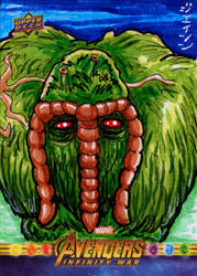 Man-Thing for Upper Deck/Marvel! by RazeComix