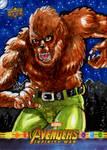 Werewolf by Night for Upper Deck/Marvel! by RazeComix