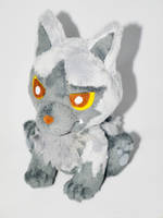 Pokemon Pochyena inspired -Plush by mmmgaleryjka
