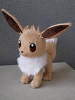 Eevee Pokemon Plush by mmmgaleryjka
