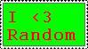 I love Random Stamp by Skyarr
