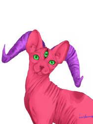 Demon Cat by Finstarnessi
