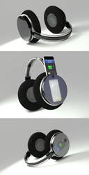 3D headphones by Zinita