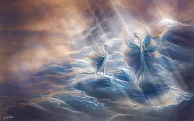 Sea of dragons by Zinita